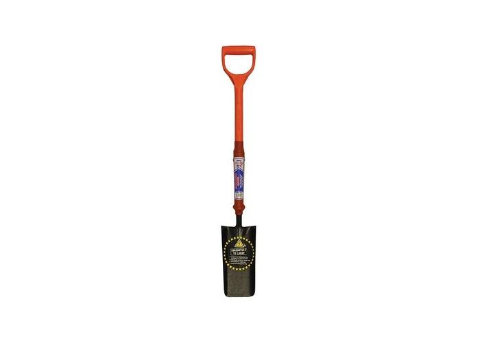 Faithfull FAIINSCABLE Cable Laying Shovel Fibreglass Insulated Shaft YD - 1