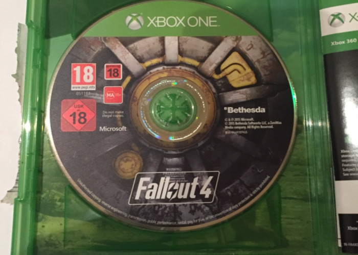 Fallout 4 Xbox One Video Game RPG post apocalyptic  - 2