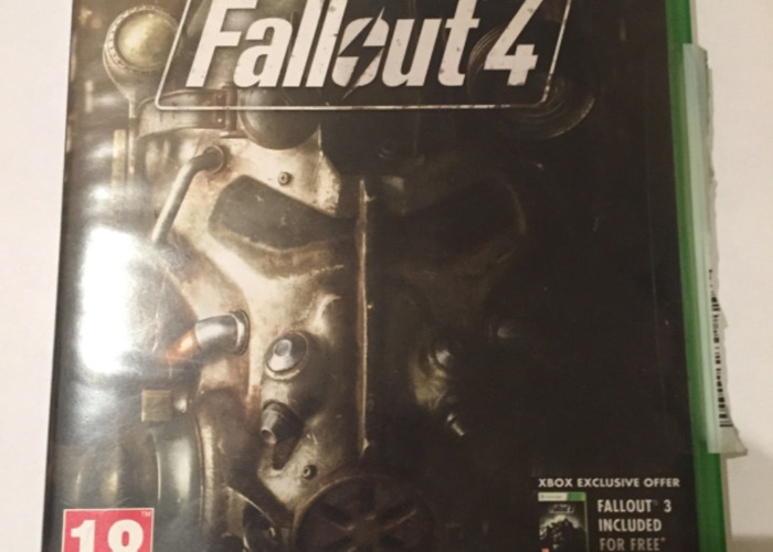 Fallout 4 Xbox One Video Game RPG post apocalyptic  - 1