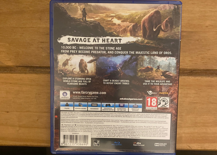 Farcry Animal Ps4 - 2