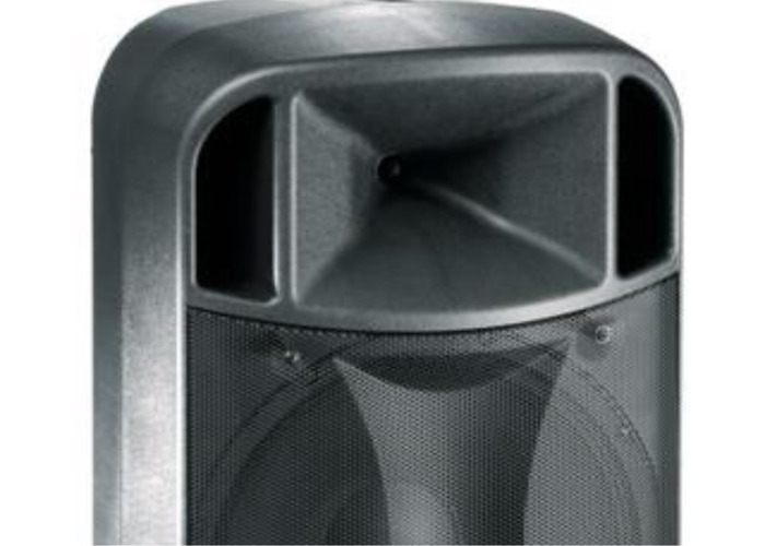 """FBT 12"""" Active Speakers. Including stands and XLR leads - 1"""