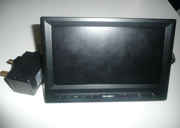 Feelworld FW819AH - 8 Inch Digital Panel TFT LCD HDMI 1080P Monitor - 1