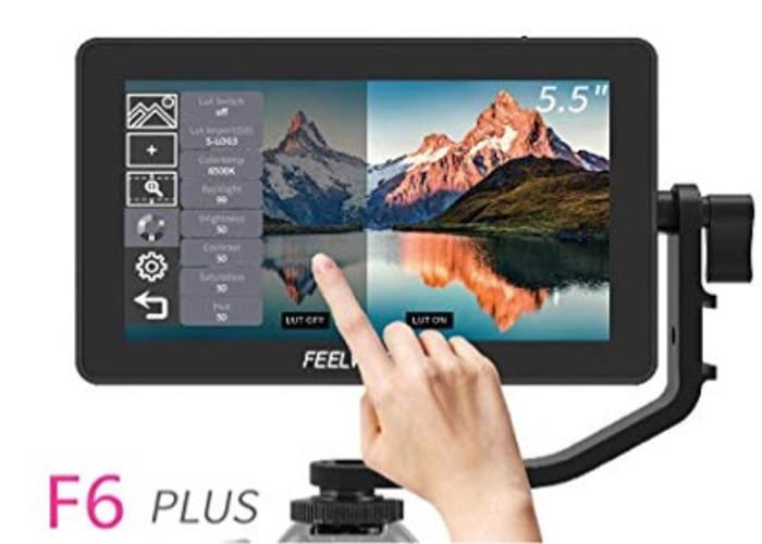 Feelworld f6 plus touchscreen monitor - 1
