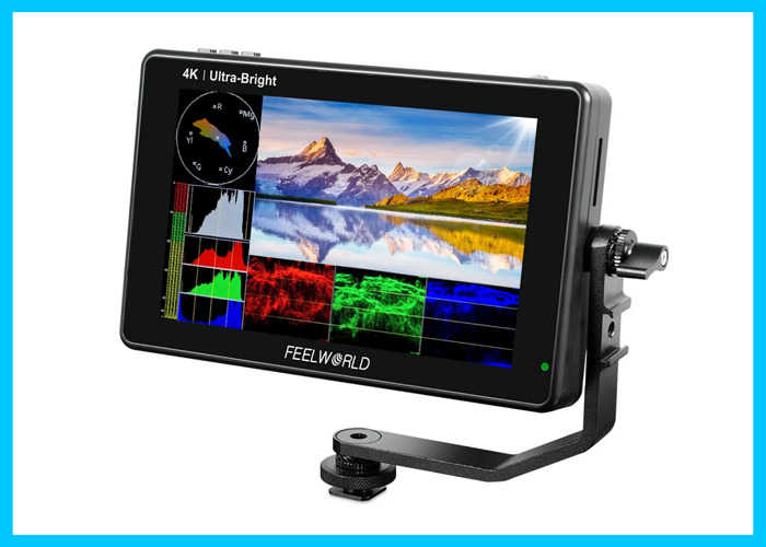 Feelworld LUT7S 7 Inch Monitor 4K HDMI SDI 2200 Nits - 1