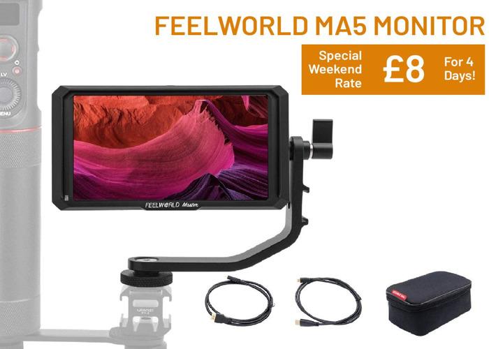 Feelworld MA5 HDMI Monitor - 1