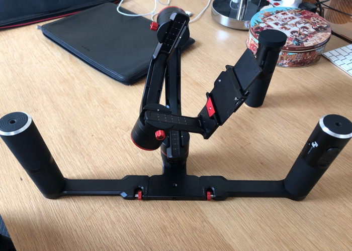 FeiyuTech a2000 3-Axis Gimbal Stabilizer Dual Handle Grip - 2