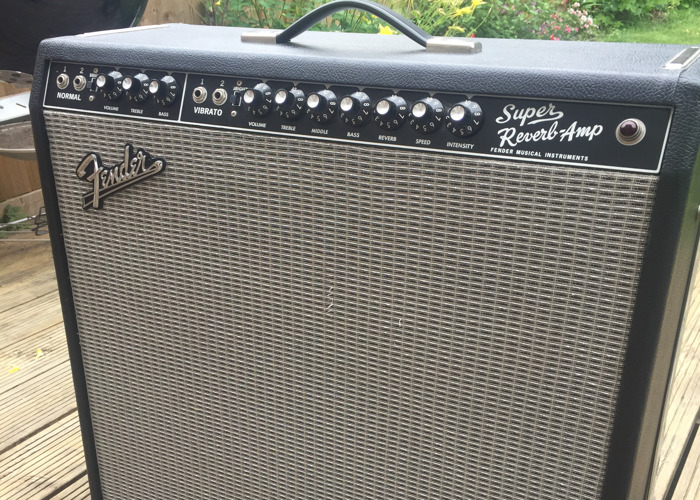 Fender 65' Super Reverb 4x10 - 1