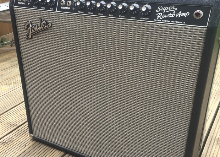 Fender 65' Super Reverb 4x10 - 2
