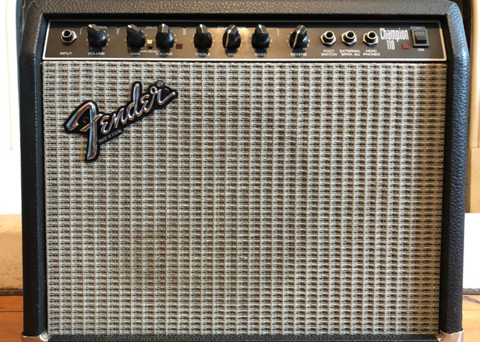 Fender Champion 110 Small Gig/Practice Guitar Amp - 1