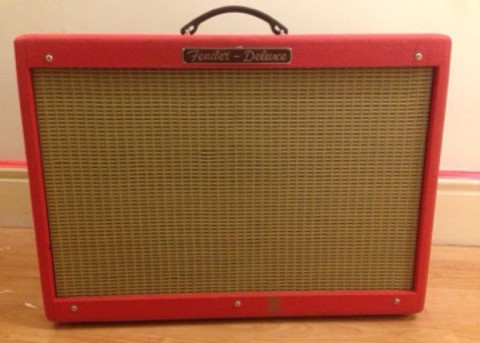 Fender Hot Rod Deluxe Custom Texas Red - 1