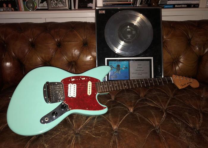 Fender Jag-Stang 1996, Kurt Cobain Nirvana Electric Guitar - 1