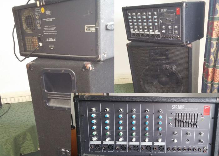 Fender Powered Mixer + 2 Speakers - 1