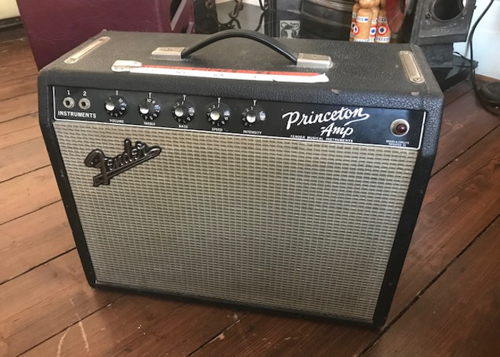 Fender Princeton guitar amp 1960's - 1