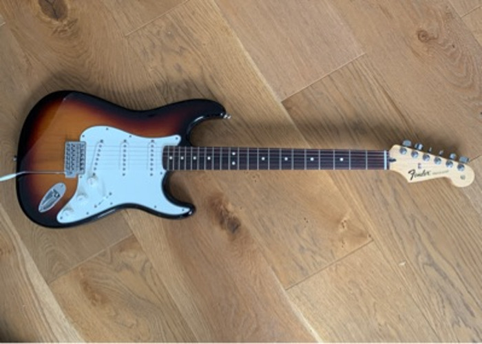 Fender Strat (Mexican) - purchased in NYC - 1