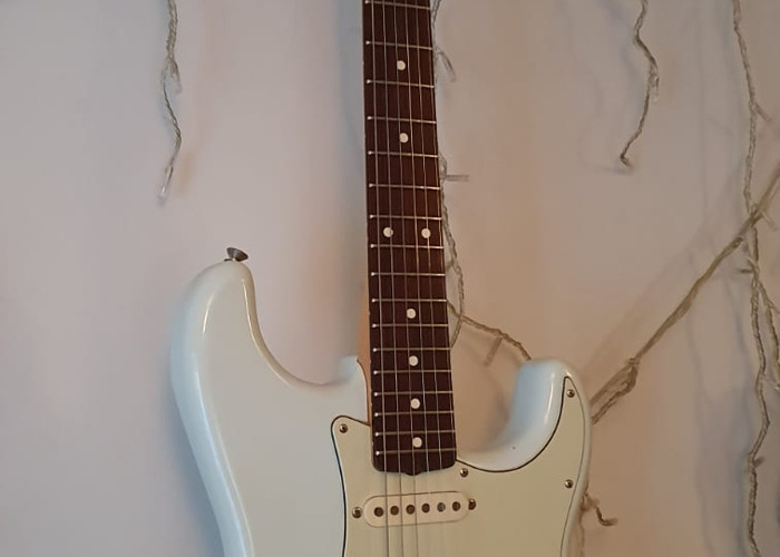 Electric Guitar Fender Stratocaster Sky Blue Made in Mexico - 2