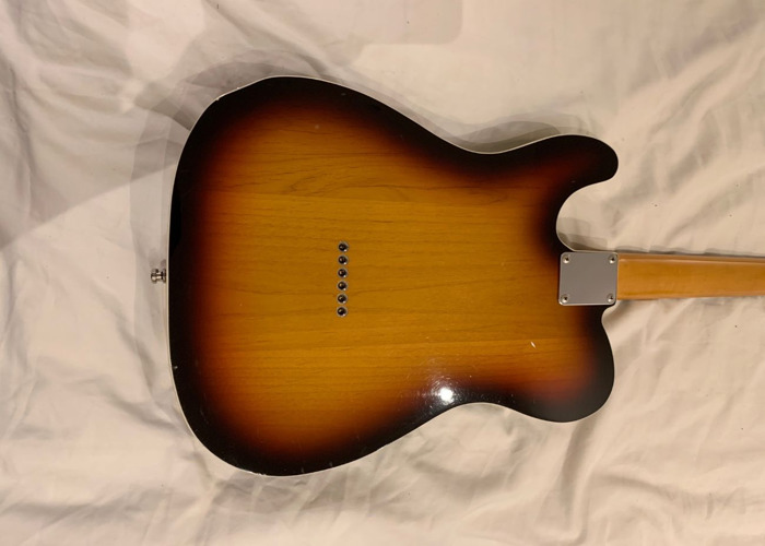 Fender Telecaster - 1993 Japanese Sunburst with Hard Case - 2