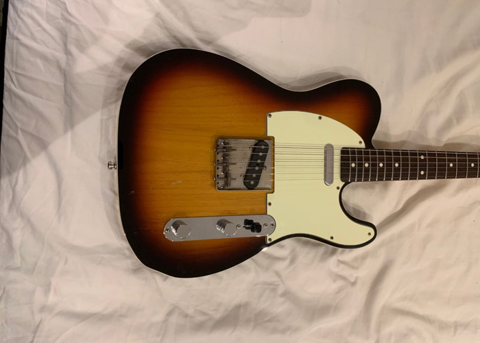Fender Telecaster - 1993 Japanese Sunburst with Hard Case - 1