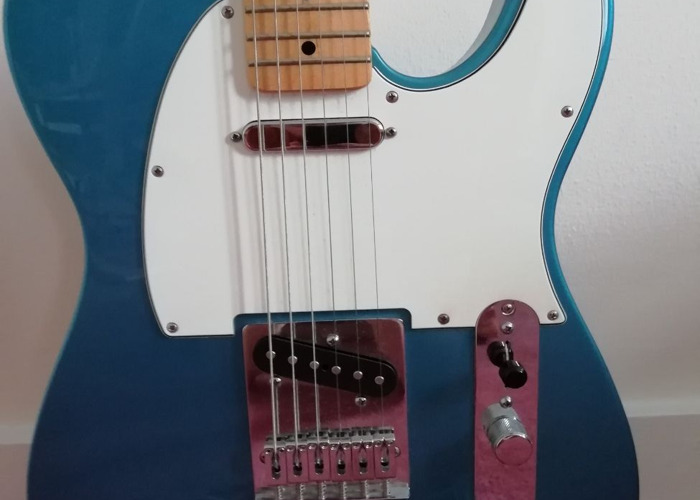 Fender Telecaster Mexican Standard in Blue - 1