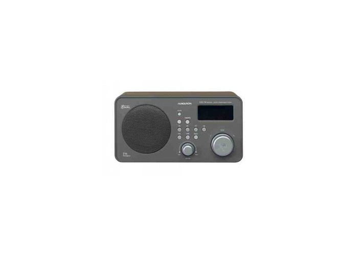 Ferguson FRG-R121D FM/DAB Digital Radio Alarm Clk *Wood Finish* - 1