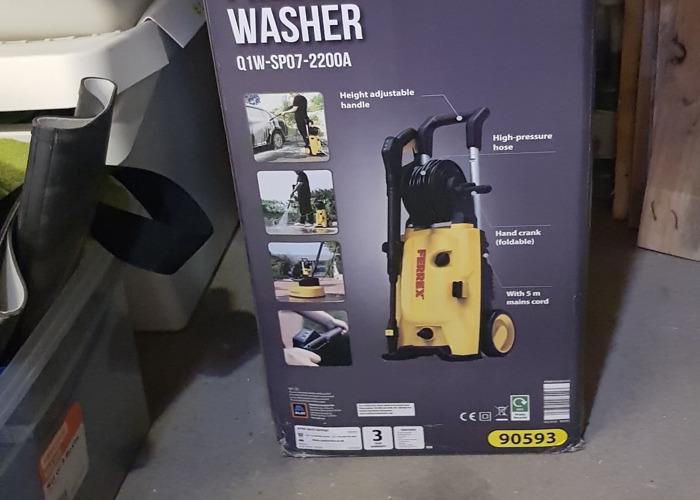 FERREX pressure washer with patio washer - 1