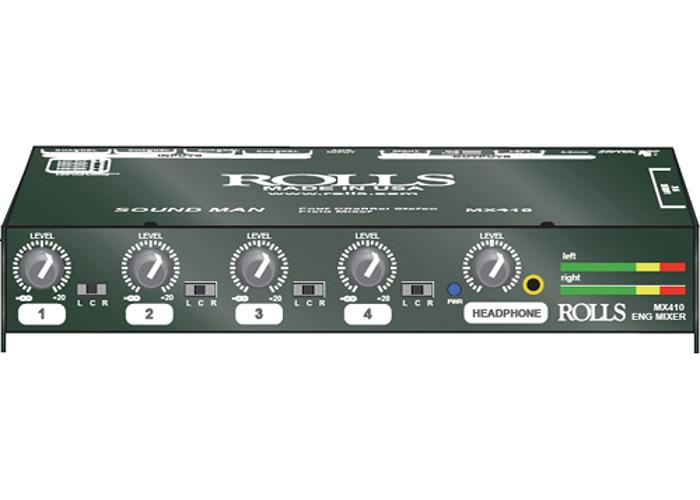 Field Sound Mixer MX410 Rolls  - 1