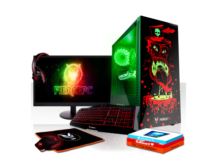 Rent Fierce GOBBLER Gaming PC, Fast Intel Core i5 8500 4 1