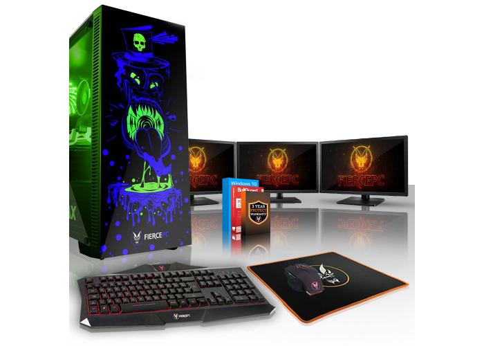 Buy Fierce GOBBLER Gaming PC, Fast Intel Core i5 8600K 4 5