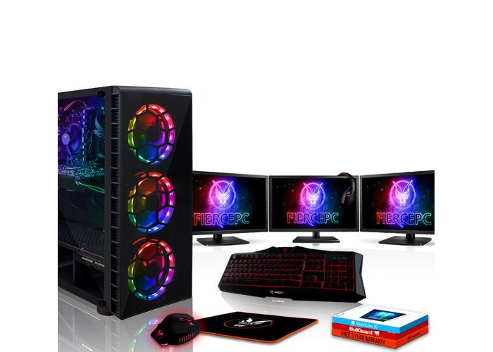 Rent Fierce Outlaw Gaming PC, Fast AMD Ryzen 7 2700X 4 3GHz