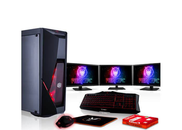Buy Fierce PYTHON Gaming PC, Fast Intel Core i5 8600K 4 5GHz