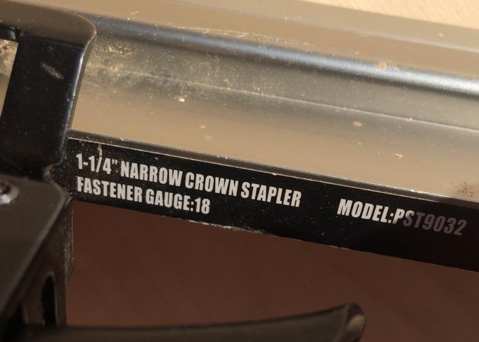 Finish Nailer Stapler - 2