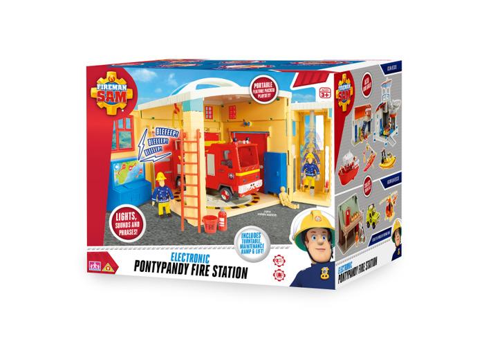 Fireman Sam 05958 Sam Electronic Pontypandy Fire Station Toy - 2