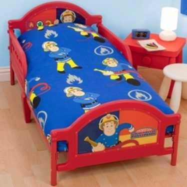Fireman Sam junior bed  - 1
