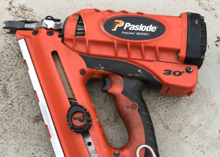 First fix paslode - 2