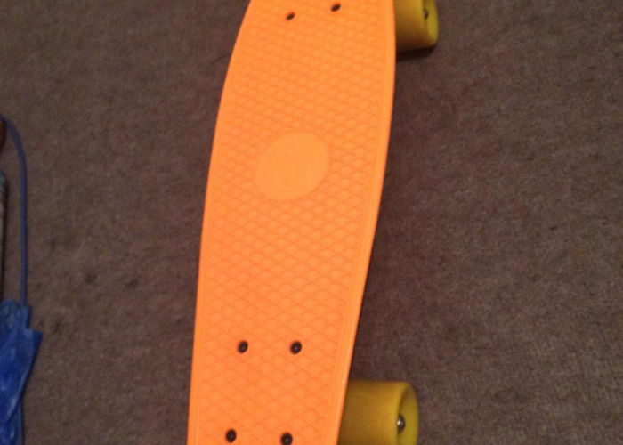 Fish skateboard orange  - 1