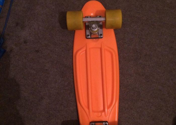 Fish skateboard orange  - 2