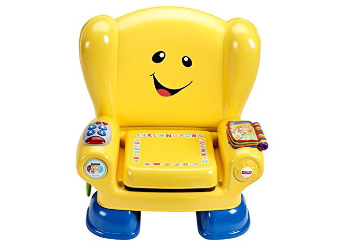 Fisher-Price BHB96 Smart Stages Chair, Educational Toddler Activity Chair Toy with Sounds, Music and Phrases, Suitable for 1 Year Old - 2
