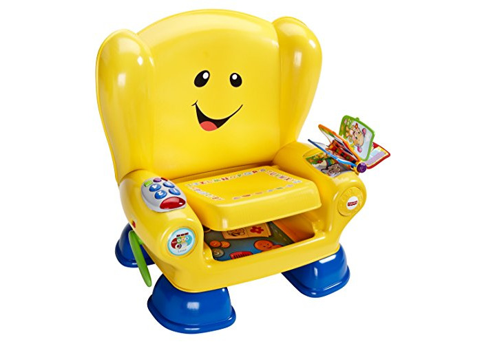 Fisher-Price BHB96 Smart Stages Chair, Educational Toddler Activity Chair Toy with Sounds, Music and Phrases, Suitable for 1 Year Old - 1