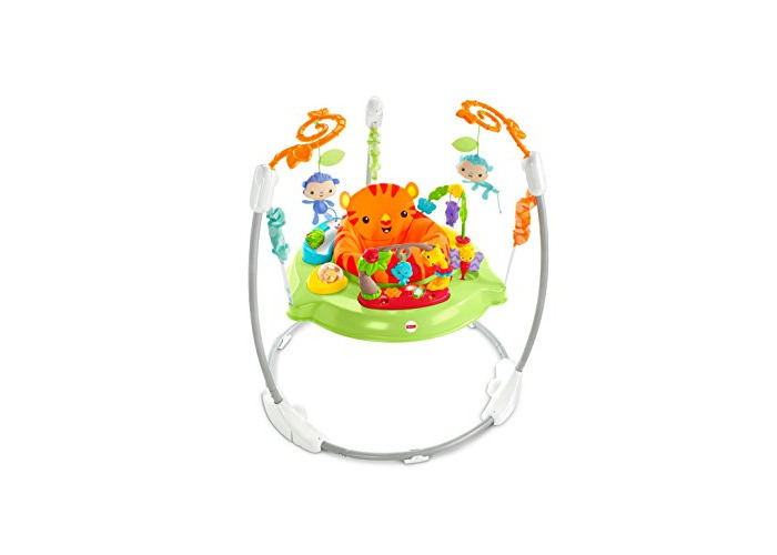 Fisher-Price CHM91 Roaring Rainforest Jumperoo, New-Born Baby Activity Centre with Music and Lights - 2