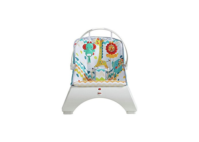 Fisher-Price Colourful Carnival Comfort Curve Bouncer - 1