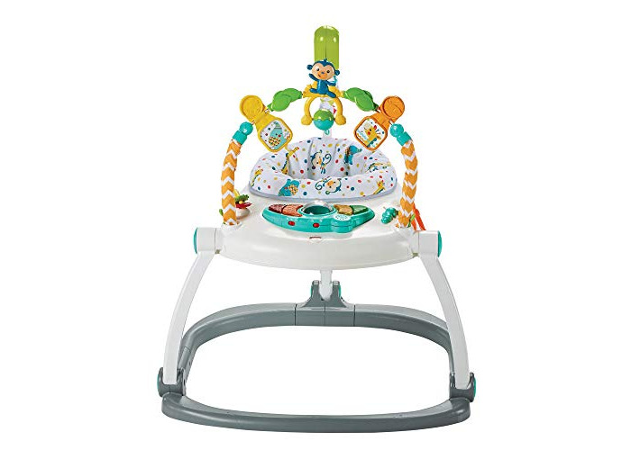 Fisher-Price Colourful Carnival SpaceSaver Jumperoo - 1