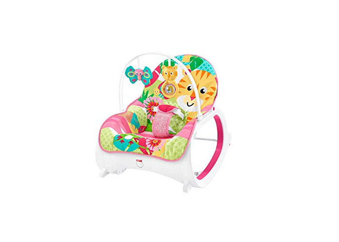 Fisher-Price Infant-To-Toddler Rocker, Baby Bouncer Chair and Rocker Suitable from Birth for New-born - 1