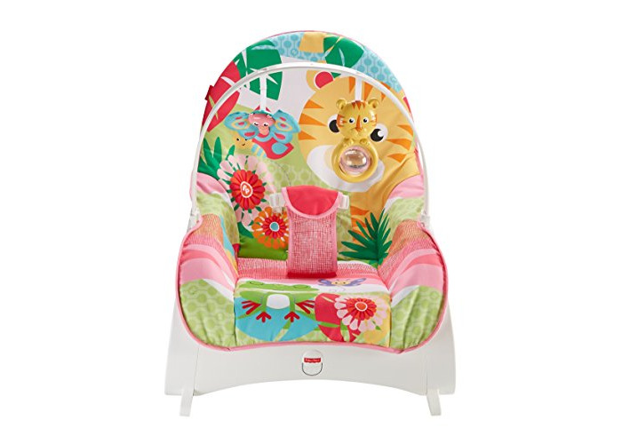 Fisher-Price Infant-To-Toddler Rocker, Baby Bouncer Chair and Rocker Suitable from Birth for New-born - 2