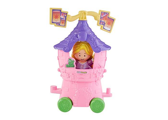 Fisher Price Little People Disney Princess parade part Rapunzel lantern light