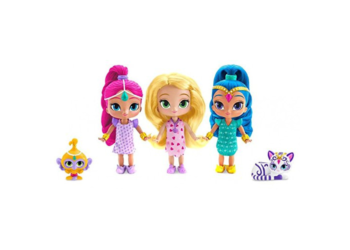 Fisher-Price Shimmer And Shine Genie Sleepover Party 3 Doll Giftset - 2