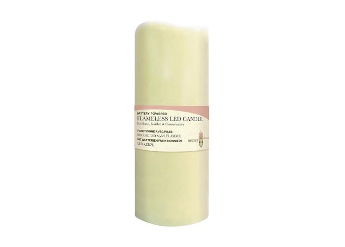 Flameless LED Candle Light 7.5 x 18cm - 1