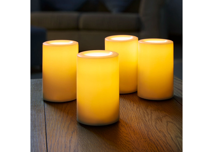 Flameless LED Candle Pack of 4 - 1