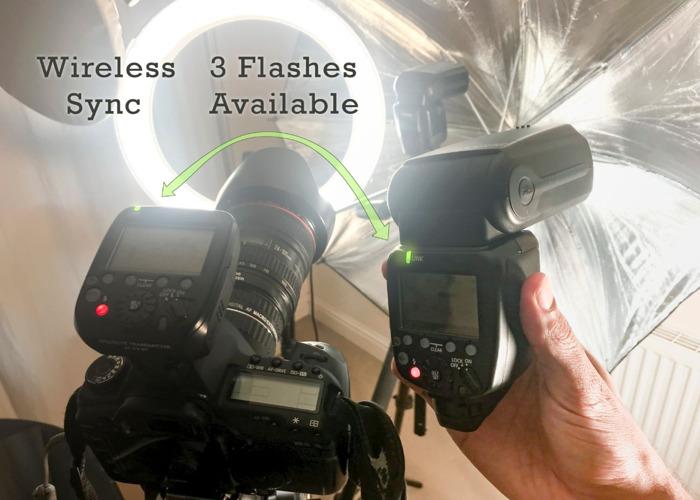 Flash - 3 available + Transmitter - Canon Speedlite 600EXRT - 1