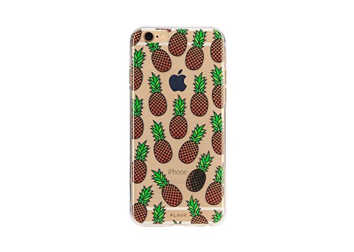 FLAVR 26265Pineapple Iplate MATT Case For Apple iPhone 6/6S Mehrfarbig - 1