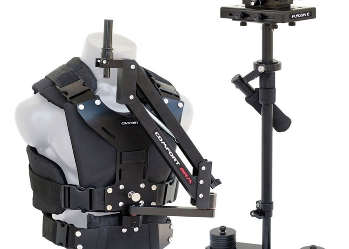 Flycam 5000 Video Camera Glidecam  Stabilizer with Comfort Arm & Vest - 2