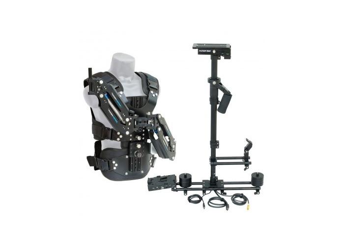 Flycam Zest Power Stabilizer (5-15kg) with Vista-II Arm & Vest - 1